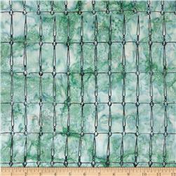 Bali Batiks Acres To Sew Wire Aqua