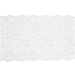 "6.75"" Vicky Chantilly Lace Trim Ivory"