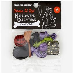 Dress It Up Embellishment Buttons  Good Witch