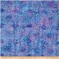 Anthology Batik Floral Purple/Blue