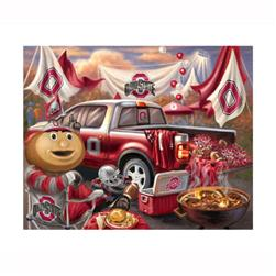 Ohio State University Fleece Throw Kit Tailgate