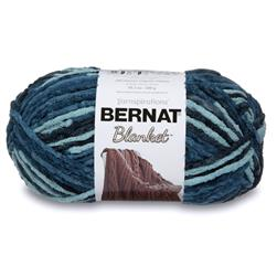 Bernat Blanket Big Ball Yarn (10736) Teal Dreams