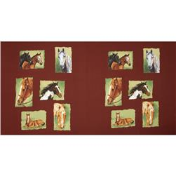 Horsin' Around Horse Profiles Panel Multi