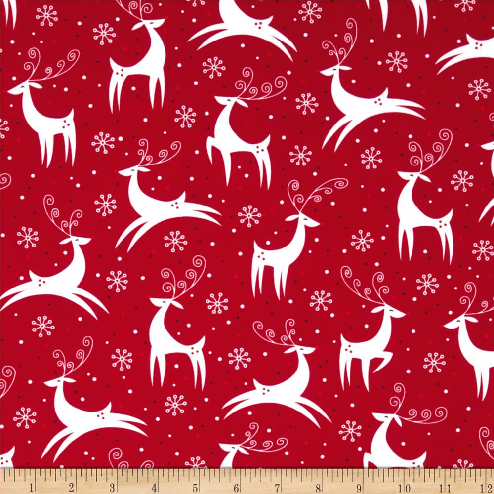 Retro Christmas Discount Designer Fabric Fabric Com