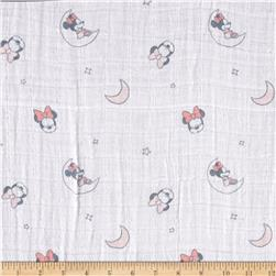 Disney Bambino Double Gauze Sleeping Minnie Mouse