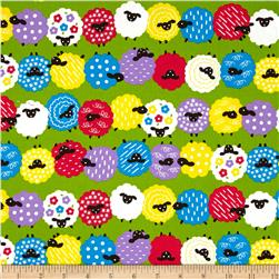Animal Diary Fun Sheep Green