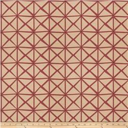 Fabricut Rohu Lattice Faux Silk Boysenberry