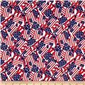 Stars & Stripes II Packed Flags Red/White/Blue
