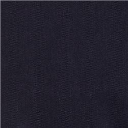 Diversitex Polyester/Cotton Twill Navy Fabric