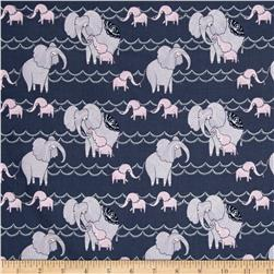 Dear Stella Dreamscape Elephants Pewter