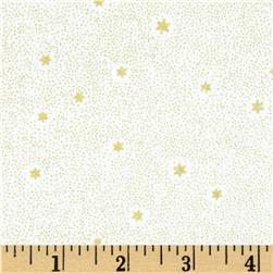 Lewis and Irene Make A Christmas Wish Tiny Dots and Stars Cream