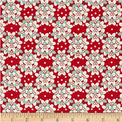 Oklahoma State Flower Mistletoe Dark Red/Green