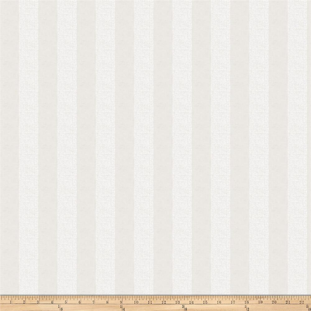 Jaclyn Smith 02624 Linen Metallic Stripe Vanilla Fabric