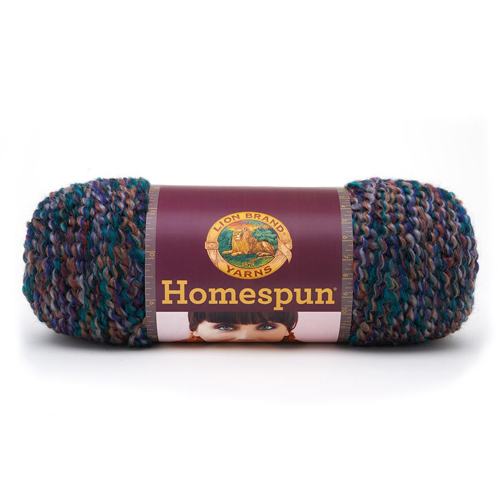 Lion Brand Homespun Yarn Pueblo - Discount Designer Fabric - Fabric ...