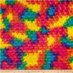 Minky Rainbow Rose Cuddle Vibrant