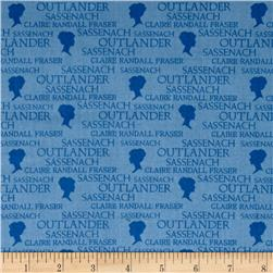 Outlander Small Logo Blue