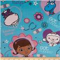 Disney Minky Doc McStuffins That Will Cost You One Hug Turquoise