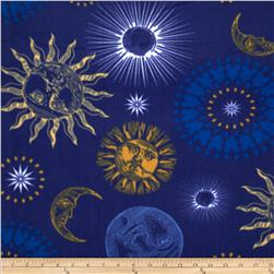 Winterfleece Night Sky Multi Fabric
