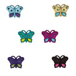 Dress It Up Embellishment Buttons  Butterflies
