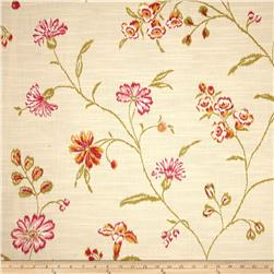 Magnolia Home Fashions Vienna Linen Blend Bloom