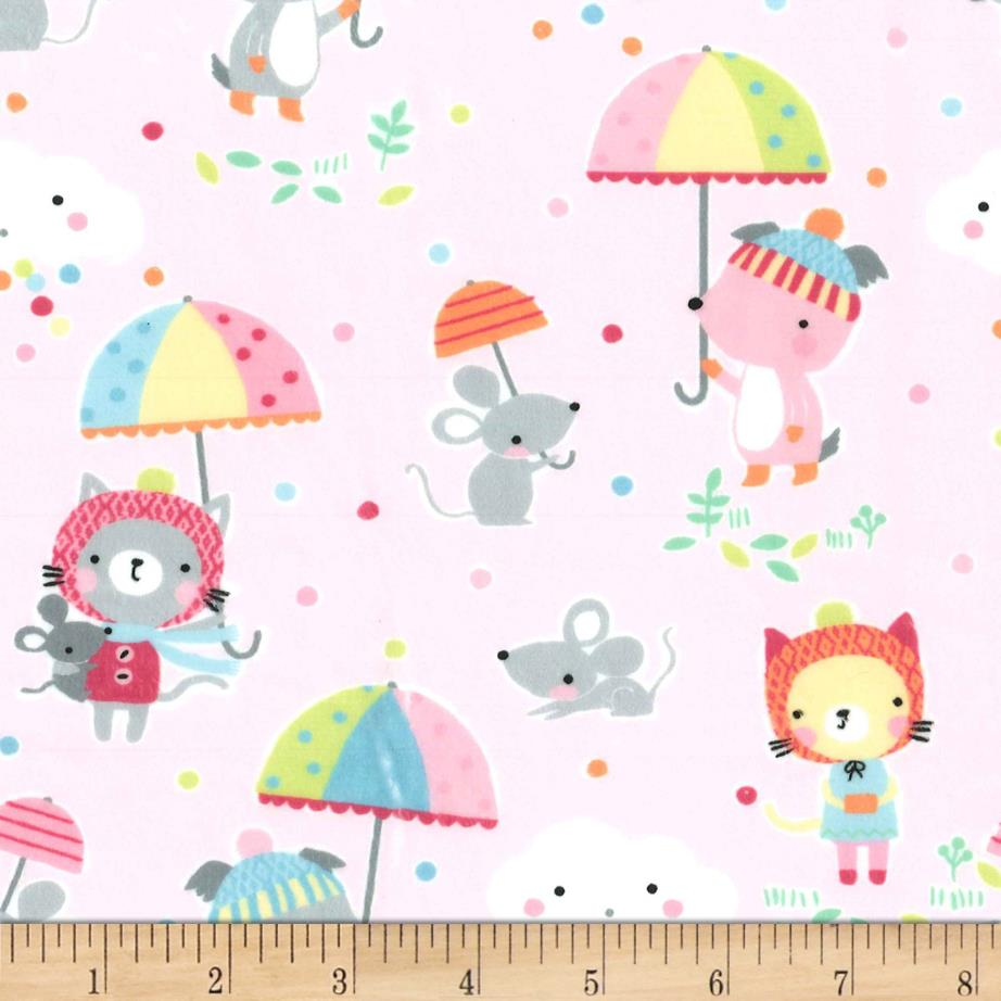 Michael Miller Minky Puddle Play Cupid