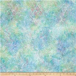 Kaufman Batiks To The Point Water Peaks Rainbow