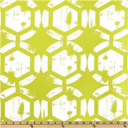 Ty Pennington Home Décor Impressions Honeycomb Chartreuse