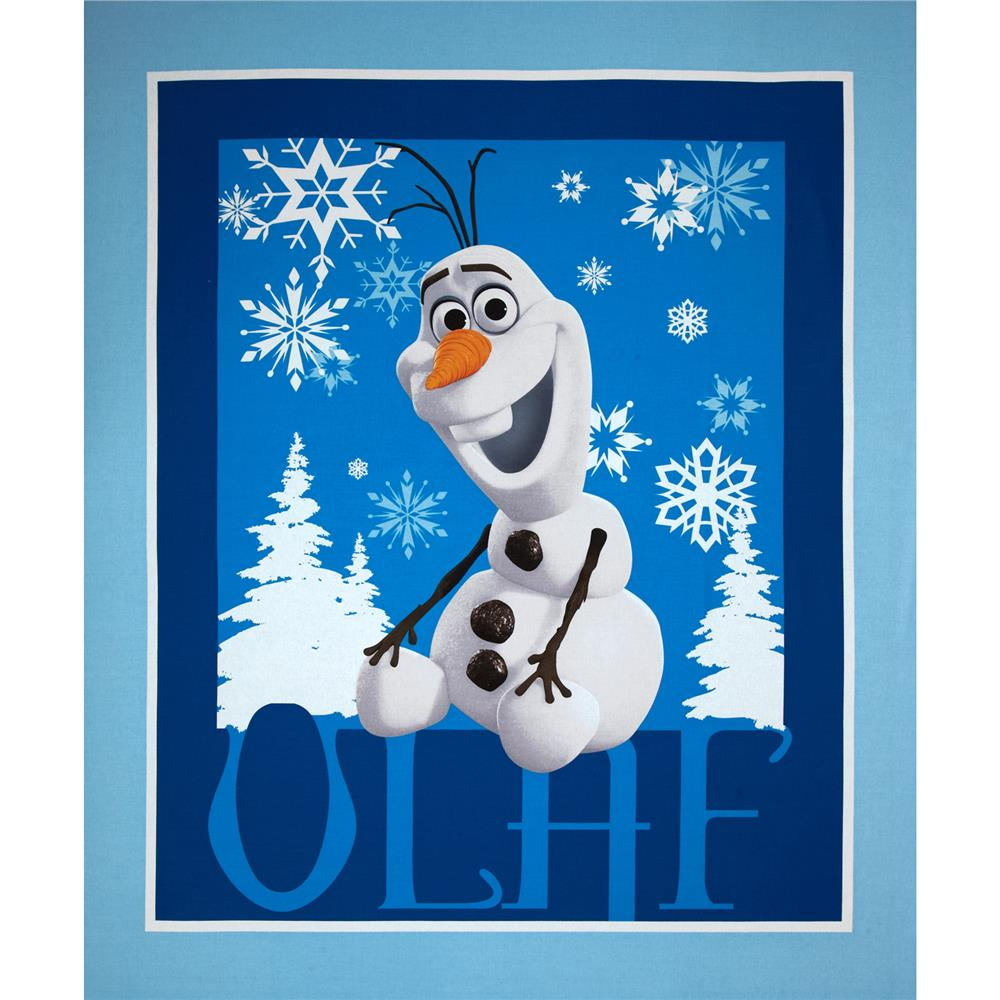 Disney Frozen Olaf Panel Blue