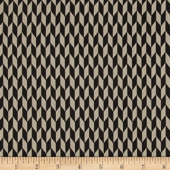 Laredo Chevron Geometric Black