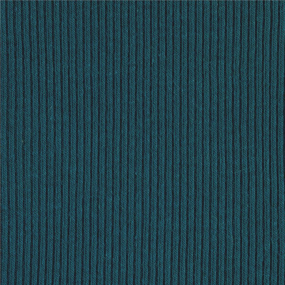 Rib Knit Dark Teal