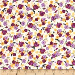 Blissful Moments Mini Floral Purple