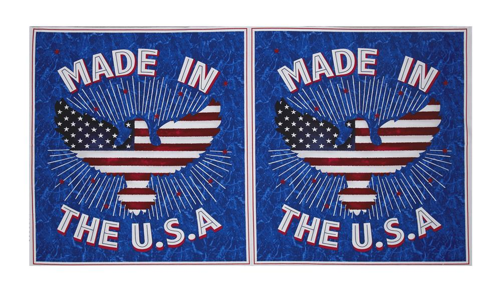 American Pride USA 23.5'' Panel Red/White/Blue Fabric