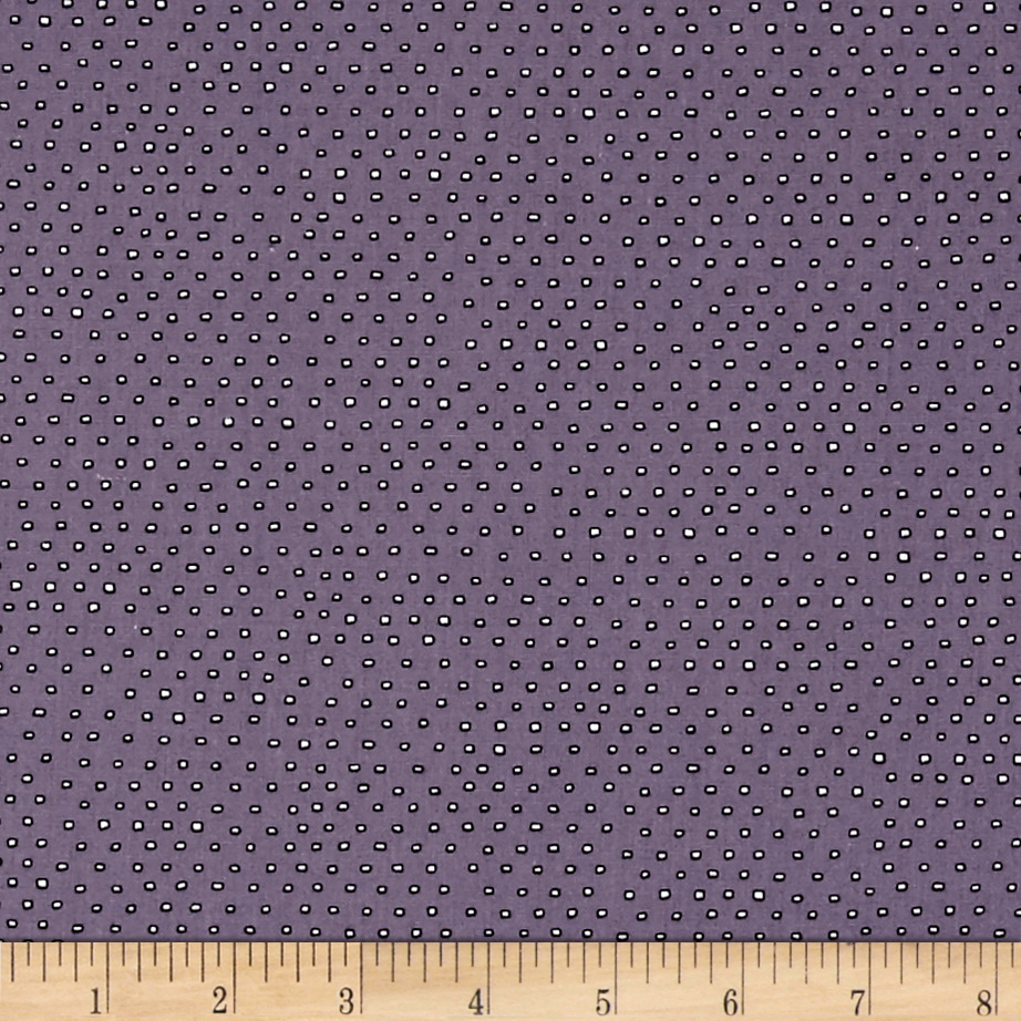Pixie Square Dot Dusty Purple Fabric by Quilting Treasures in USA