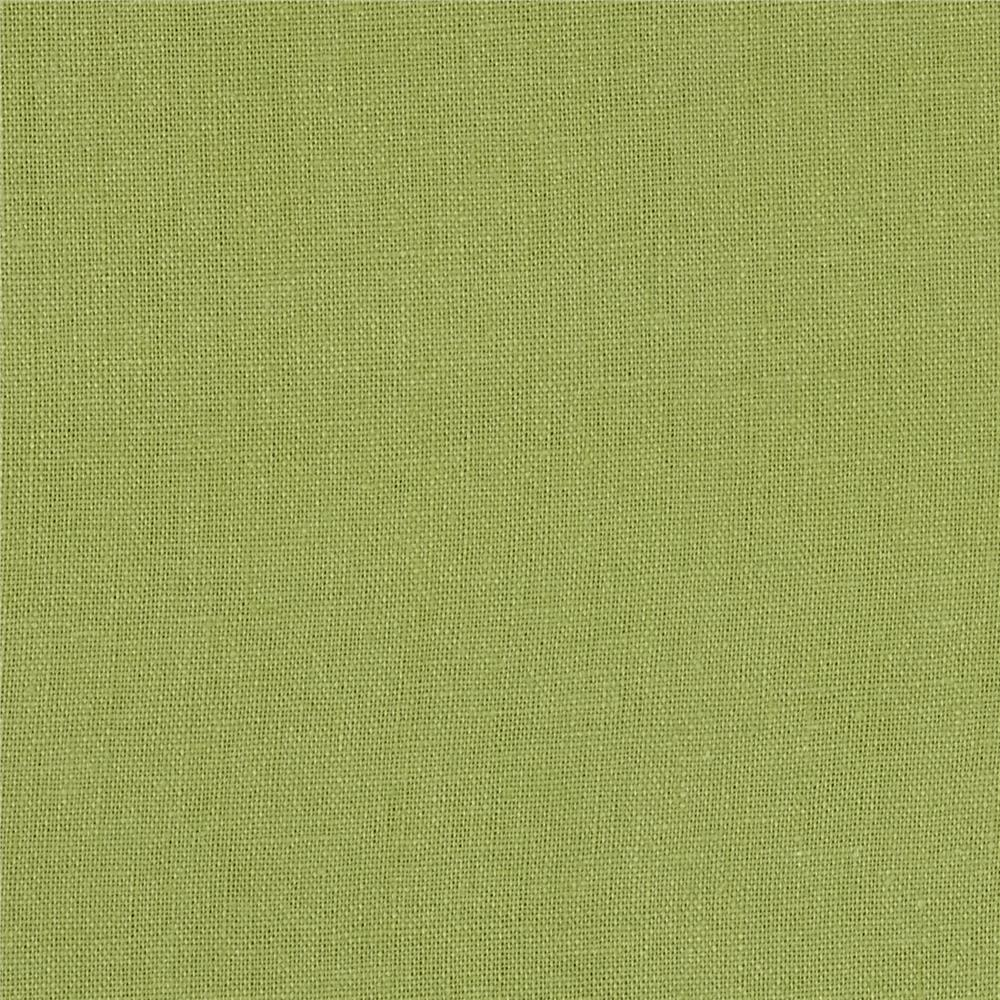 Kaufman Brussels Washer Linen Blend Lime Green