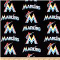 Miami Marlins Cotton Broadcloth Multi