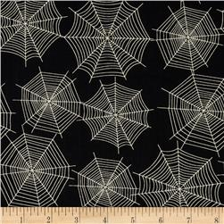 Scaredy Cats Spider Webs Black