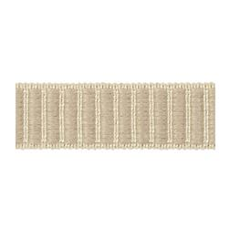 "Fabricut 1.5"" Winnowing Trim Papyrus"