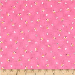 Lecien Minny Muu Honey Bees Pink