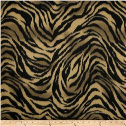 Skin Fleece Print Tiger Gold/Black