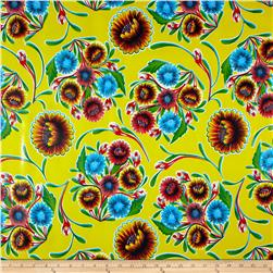 Oil Cloth Bloom Yellow