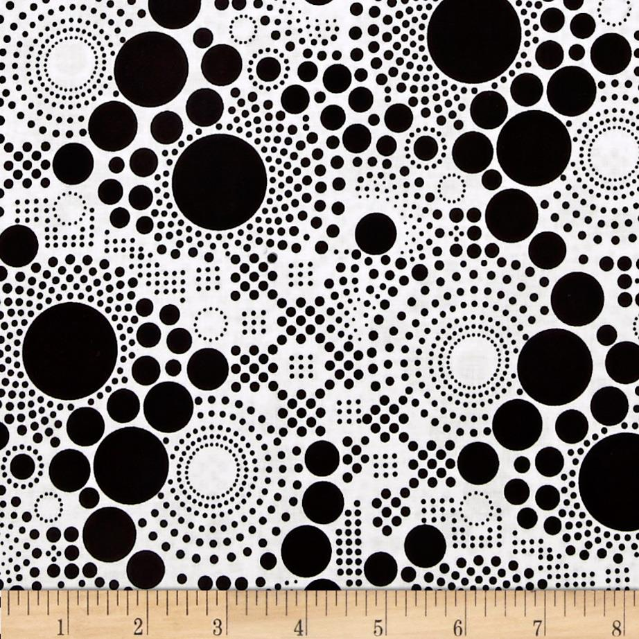 Riley Blake Hipster Pop Dot Black