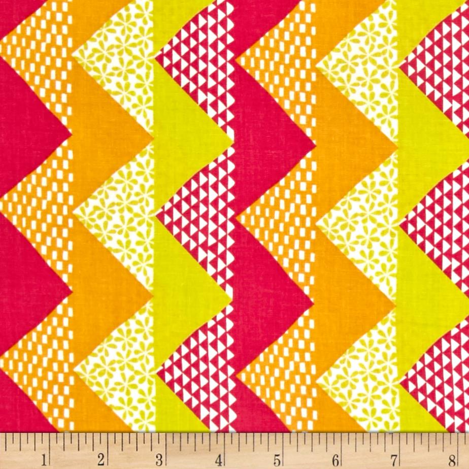 Moda quilt blocks chevron spectrum discount designer for Quilting material