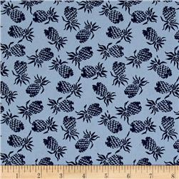 Hoffman Mini Pineapples Blue