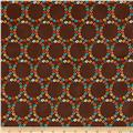 Windham Nod to Mod Merry Go Round  Brown