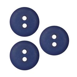 Fashion Button 5/8'' Peoria Royal Blue