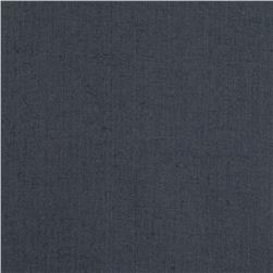 100% European Linen Suiting Charcoal