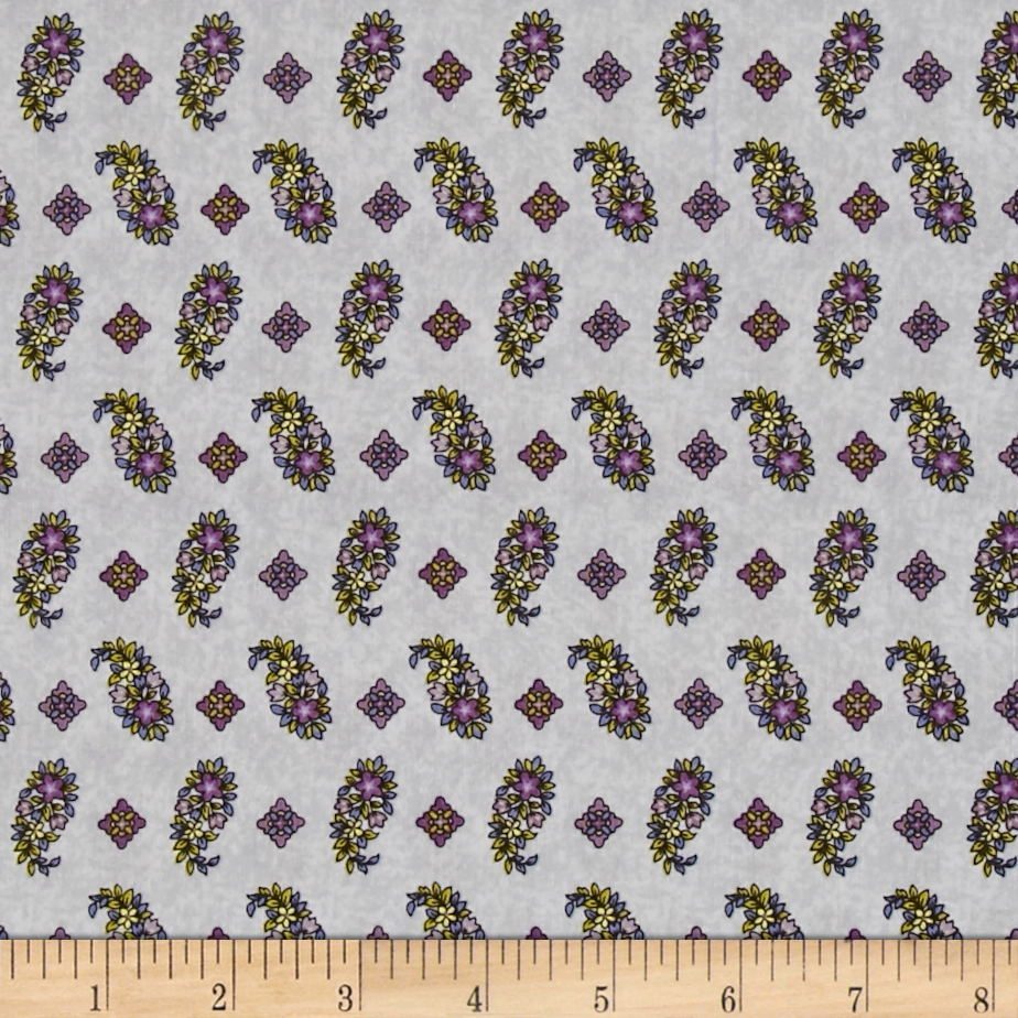 Chelsea Floral Foulard White Fabric