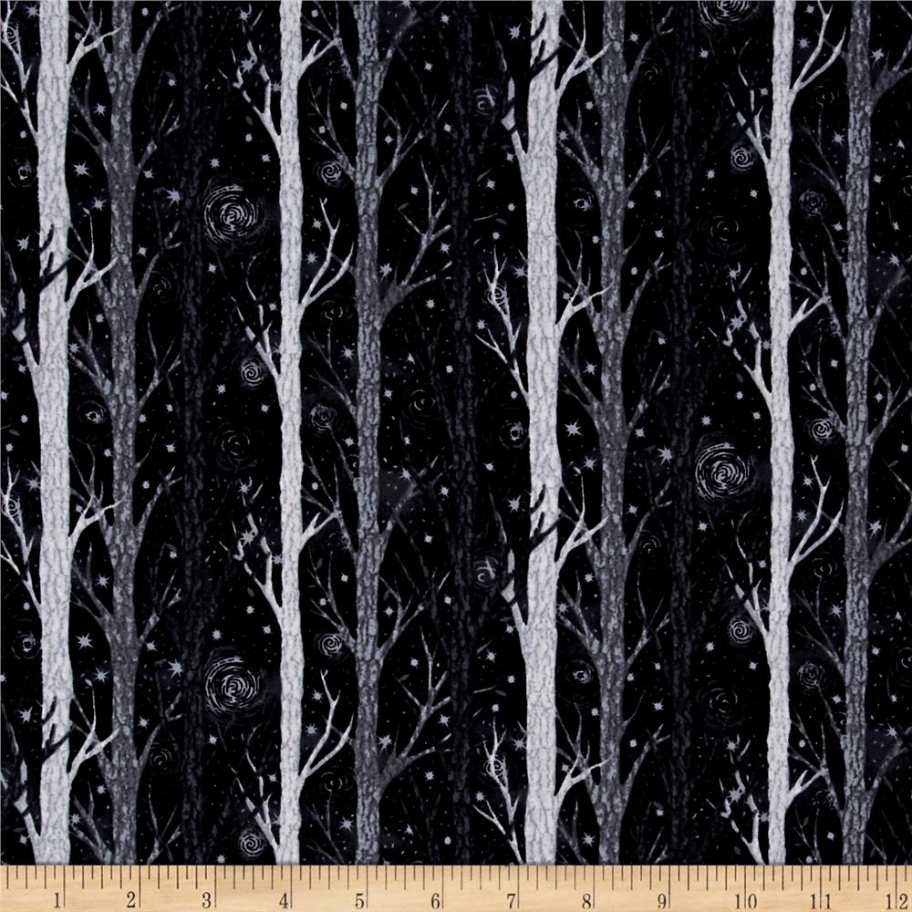 Nite Owls Trees Black/Grey