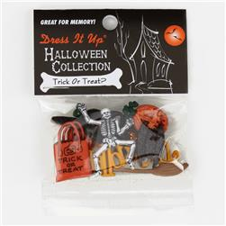 Dress It Up Embellishment Buttons  Trick Or Treat
