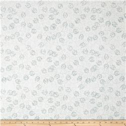 Batavian Batiks Dancing Leaves Light Gray